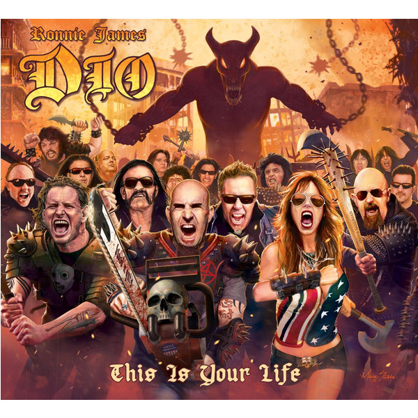 DIO DIO Tribute - Ronnie James Dio: This Is Your Life (2 LP) цена и фото