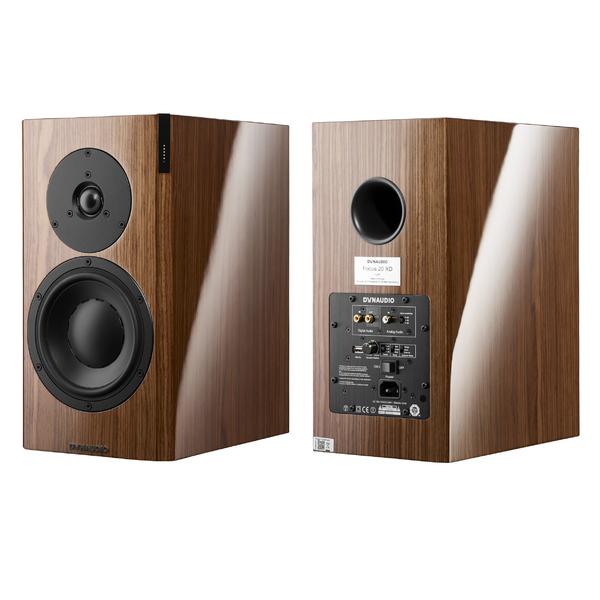 Активная полочная акустика Dynaudio Focus 20 XD Walnut High Gloss полочная акустика dynaudio contour 20 walnut
