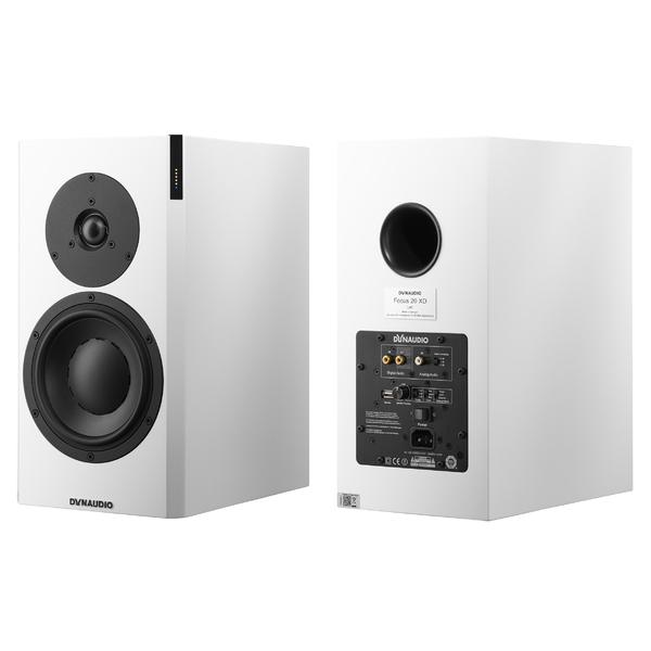 Активная полочная акустика Dynaudio Focus 20 XD White Satin denon sc n9 white полочная ас