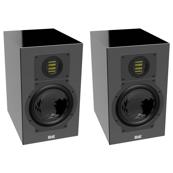 Полочная акустика ELAC BS 244.3 High Gloss Black активная полочная акустика elac navis arb 51 high gloss ebony emara