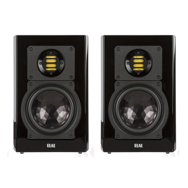 Полочная акустика ELAC BS 263 High Gloss Black активная полочная акустика elac navis arb 51 high gloss ebony emara
