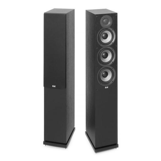 Напольная акустика ELAC Debut F5.2 Black центральный громкоговоритель elac debut c6 2 black