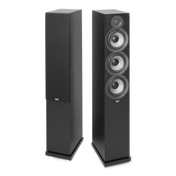 Напольная акустика ELAC Debut F6.2 Black центральный громкоговоритель elac debut c6 2 black