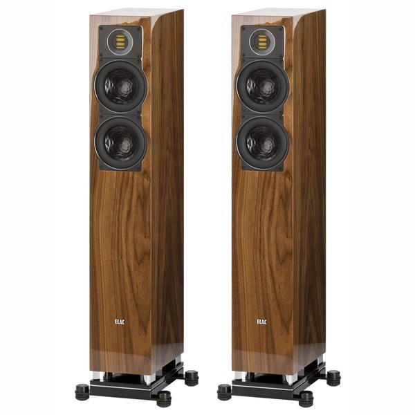 Напольная акустика ELAC FS 407 High Gloss Walnut цены
