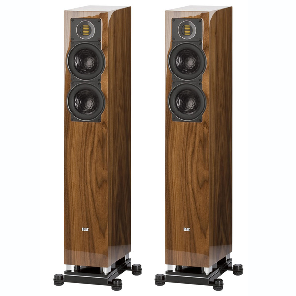 лучшая цена Напольная акустика ELAC FS 407 High Gloss Walnut