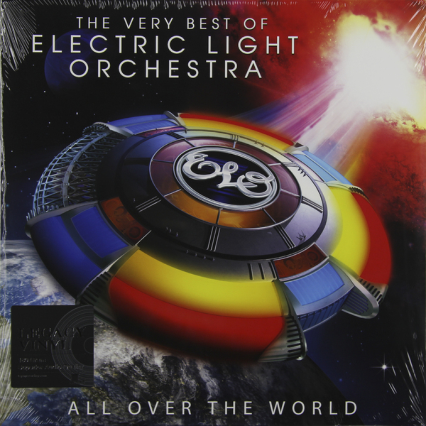 Electric Light Orchestra Electric Light Orchestra - All Over The World - The Very Best Of (2 LP) экспонометр world of light sekonic l 758c