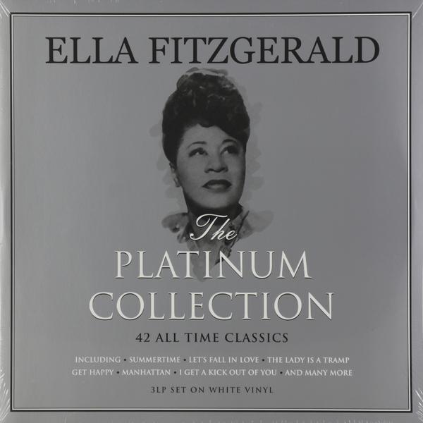 Ella Fitzgerald Ella Fitzgerald - Platinum Collection (3 Lp, Colour) ella fitzgerald ella fitzgerald ella at the shrine prelude to zardi s colour