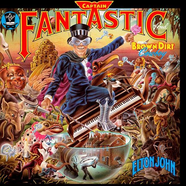 Elton John Elton John - Captain Fantastic And The Brown Dirt Cowboy elton john elton john the big picture 2 lp