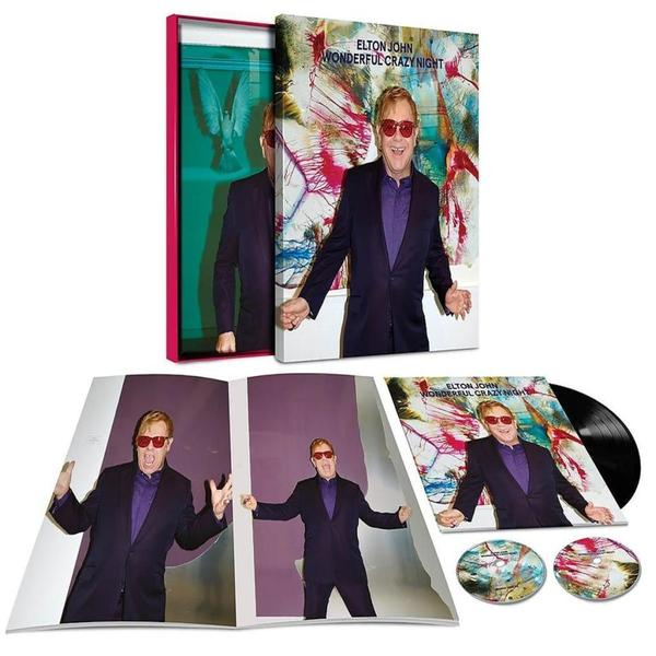 Elton John Elton John - Wonderful Crazy Night (lp + 2 Cd) кий cuetec veltex 2pc рп 9960 830