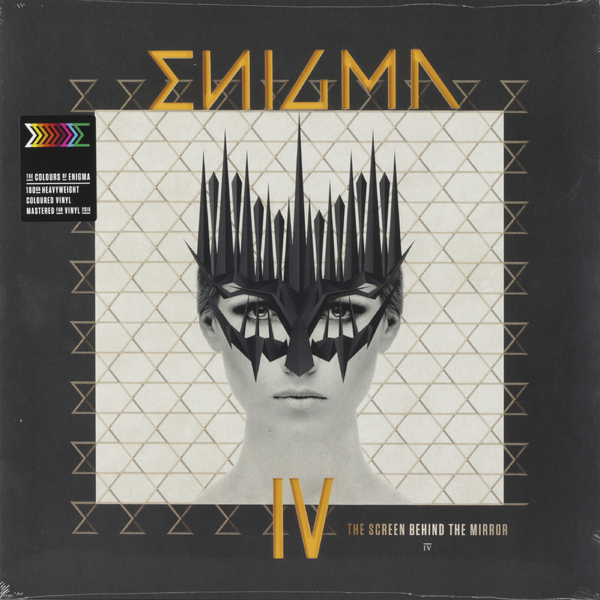 Enigma Enigma - The Screen Behind The Mirror (180 Gr, Colour) цена и фото