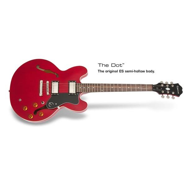 Гитара полуакустическая Epiphone DOT CHERRY b dot музыкальный инструмент b dot гитара с 2 лет