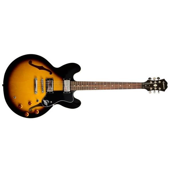 Гитара полуакустическая Epiphone DOT VINTAGE SUNBURST CH b dot музыкальный инструмент b dot гитара с 2 лет