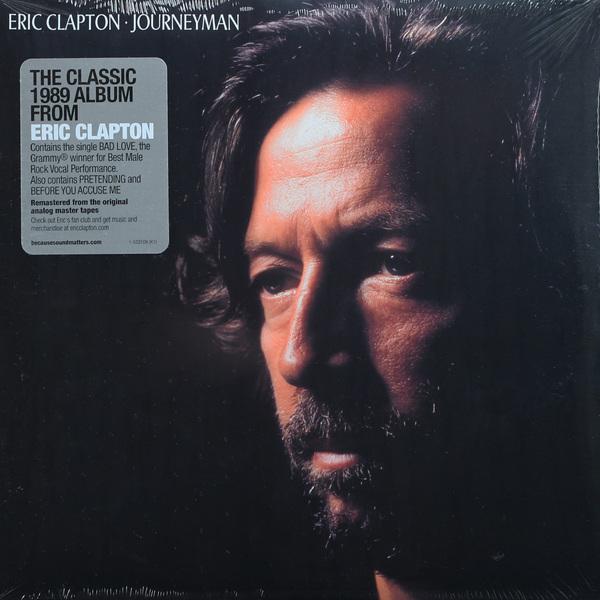 цена на Eric Clapton Eric Clapton - Journeyman (2 LP)