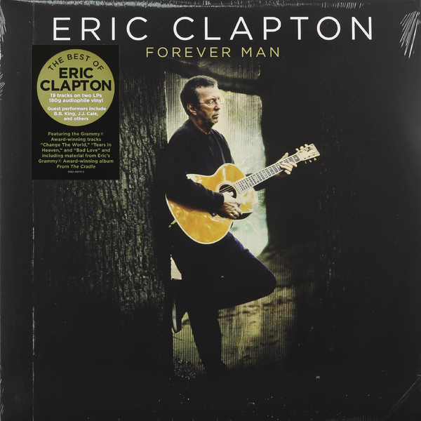 Eric Clapton Eric Clapton - Forever Man: Best Of (2 Lp, 180 Gr) eric clapton eric clapton give me strength 3 lp