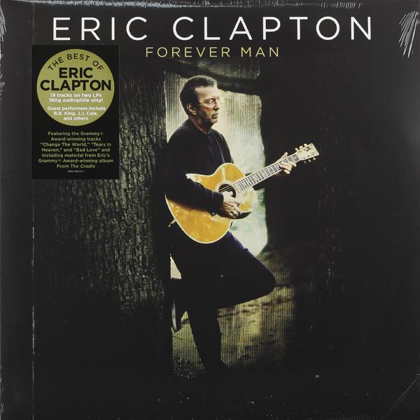 цена на Eric Clapton Eric Clapton - Forever Man: Best Of (2 Lp, 180 Gr)