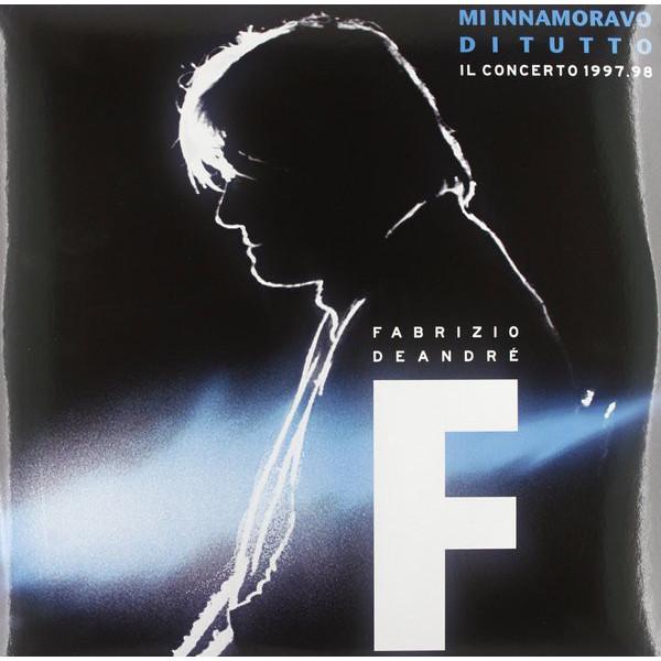 Fabrizio De Andre Fabrizio De Andre - M'innamoravo Di Tutto - Il Concerto 1998 (3 LP) fabrizio de andre fabrizio de andre in teatro il concerto 1992 1993 3 lp
