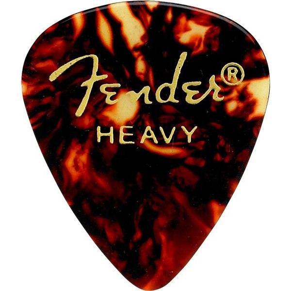 цена на Медиатор Fender Classic Shell Heavy