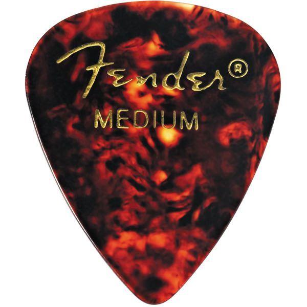 цена на Медиатор Fender Classic Shell Medium