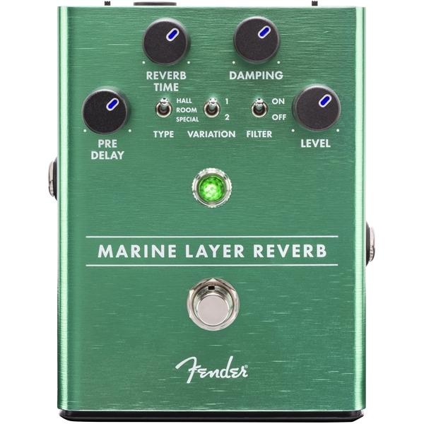 Педаль эффектов Fender Marine Layer Reverb Pedal педаль эффектов fender engager boost pedal