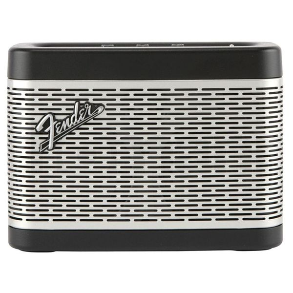 Портативная колонка Fender Newport Bluetooth Speaker Black/Silver sdy001 3w bluetooth v2 1 speaker w mini usb usb 2 0 3 5mm fm tf black light blue