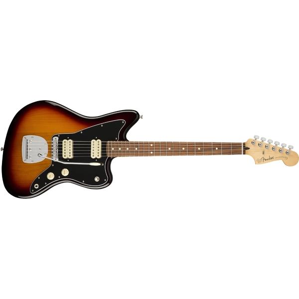 Электрогитара Fender Player Jazzmaster PF 3-Color Sunburst jackson js series dinky™ arch top js32q rosewood fingerboard dark sunburst