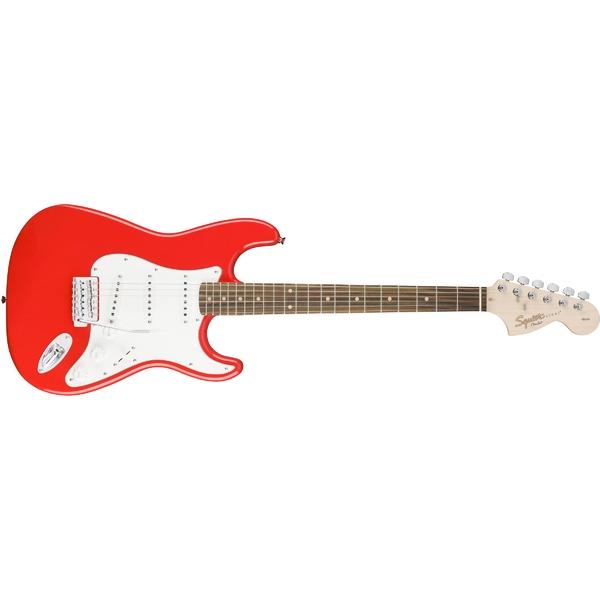 лучшая цена Электрогитара Fender Squier Affinity Stratocaster LRL Race Red