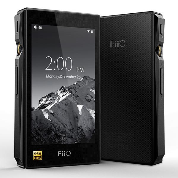 Портативный Hi-Fi плеер FiiO X5 3nd gen Black портативный hi fi плеер fiio x5 3nd gen titanium