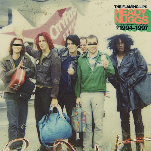 Flaming Lips Flaming Lips - Heady Nuggs 20 Years After Clouds Taste Metallic 1994-1997 (5 LP) цена и фото