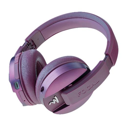 купить Беспроводные наушники Focal Listen Wireless Chic Edition Purple по цене 18990 рублей
