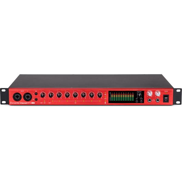 Внешняя студийная звуковая карта Focusrite Clarett 8Pre USB внешняя студийная звуковая карта focusrite red 4pre