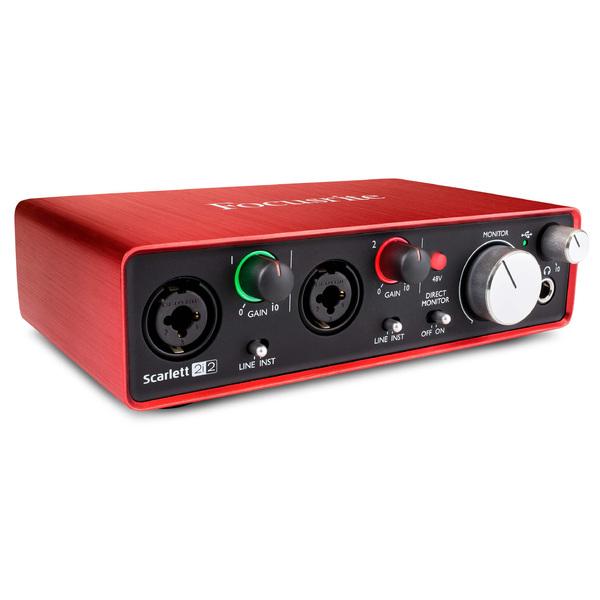 скачать драйвер для звуковой карты Focusrite Scarlett 2i2 - фото 4