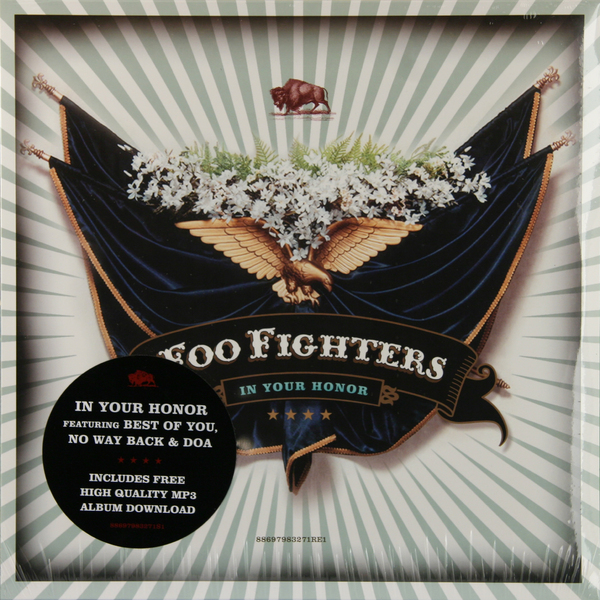 Foo Fighters Foo Fighters - In Your Honor (2 LP) foo fighters greatest hits 2 lp