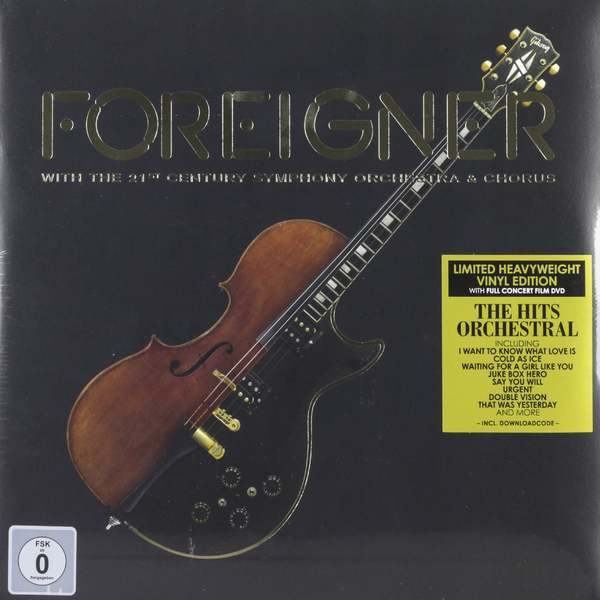 Foreigner Foreigner - With The 21st Century Symphony Orchetra (2 Lp+dvd) цена 2017