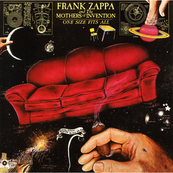 Frank Zappa Frank Zappa - One Size Fits All padded wrist guard one size fits most