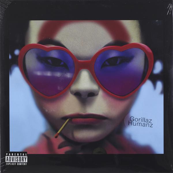 Gorillaz Gorillaz - Humanz (2 LP) gorillaz – humanz cd