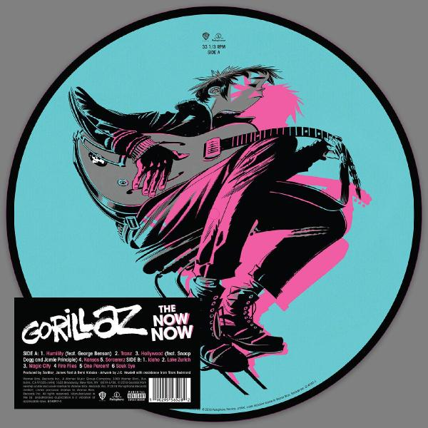 Gorillaz Gorillaz - Now Now (picture) gorillaz gorillaz the fall