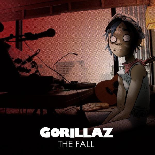 Gorillaz Gorillaz - The Fall (colour) gorillaz gorillaz the fall