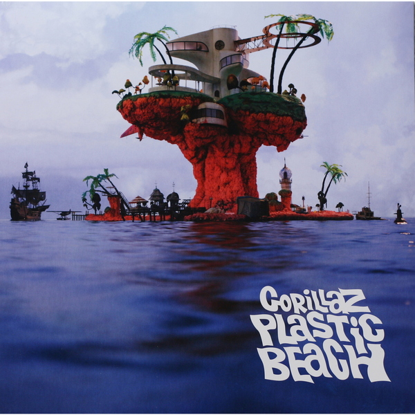 лучшая цена Gorillaz Gorillaz - Plastic Beach (2 LP)