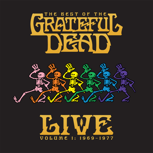 Grateful Dead Grateful Dead - The Best Of The Grateful Dead Live Volume 1: 1969-1977 (2 Lp, 180 Gr) living dead dolls series20 days of the dead el luchador muerto variant