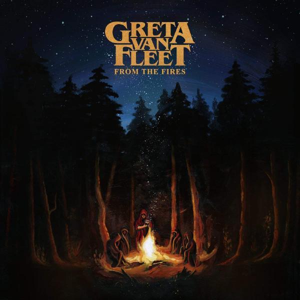 Greta Van Fleet Greta Van Fleet - From The Fires (ep) цена и фото