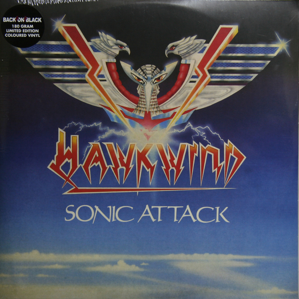 Hawkwind Hawkwind - Sonic Attack (2 Lp, 180 Gr, Colour) frightened rabbit frightened rabbit painting of a panic attack 180 gr