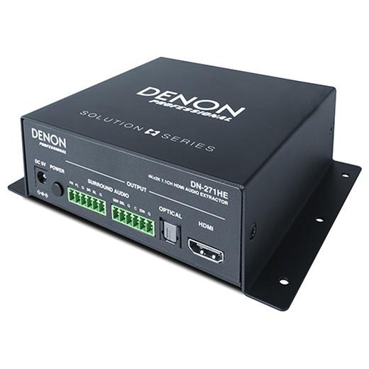 Товар (аксессуар для мультирума) Denon Аудио экстрактор HDMI DN-271HE студийные мониторы denon dn 508s