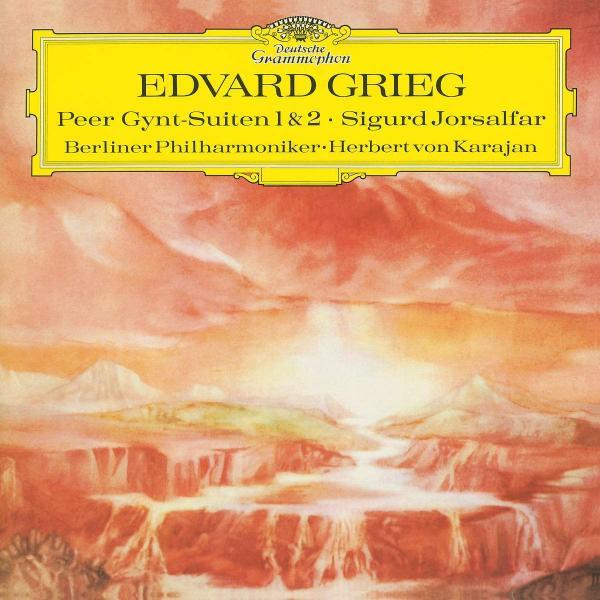 GRIEG GRIEGHerbert Von Karajan - : Peer Gynt Suite No.1; Suite No.2; Sigurd Jorsalfar l godowsky rigoletto suite no 1