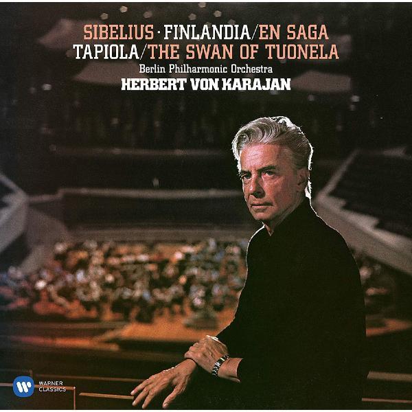 Sibelius SibeliusHerbert Von Karajan - : Finlandia. Karelia. En Saga. Valse Triste (2 Lp, 180 Gr) цена и фото