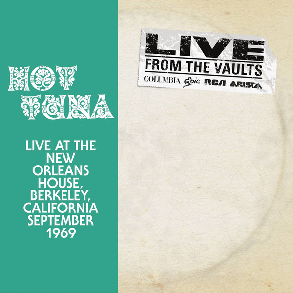 Hot Tuna Hot Tuna - Live At The New Orleans House (2 LP) new hot