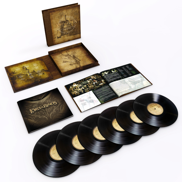 Саундтрек СаундтрекHoward Shore - The Lord Of The Rings: The Motion Picture Trilogy Soundtrack (6 Lp, 180 Gr) цена и фото