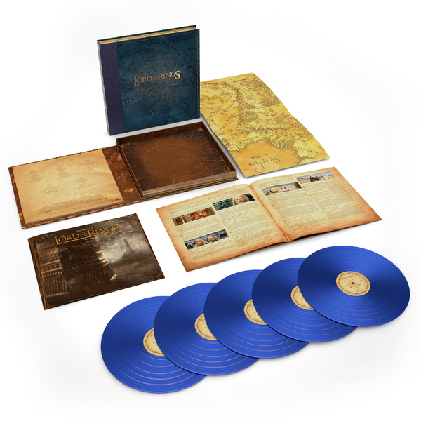 Саундтрек СаундтрекHoward Shore - The Lord Of The Rings: The Two Towers - The Complete Recordings (5 Lp, 180 Gr, Colour) цена и фото