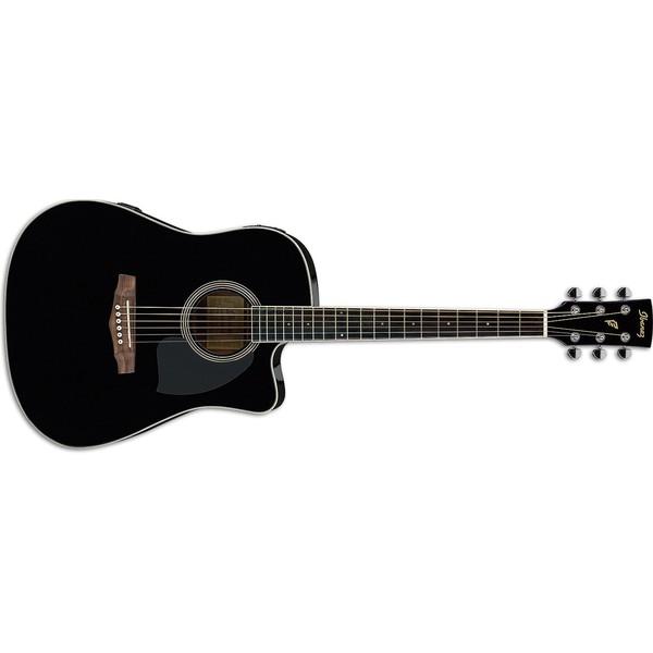 Гитара электроакустическая Ibanez PF15ECE-BK