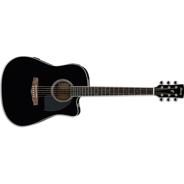 Гитара электроакустическая Ibanez PF15ECE-BK бас гитара ibanez sr300eb weathered black