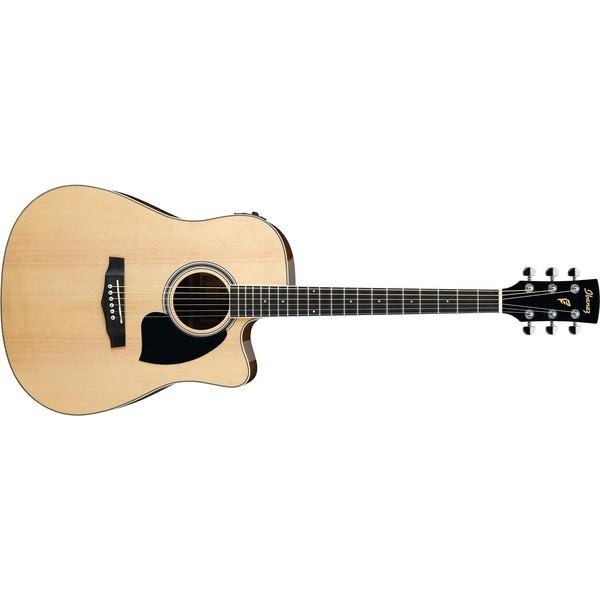 Гитара электроакустическая Ibanez PF15ECE-NT бас гитара ibanez sr300eb weathered black